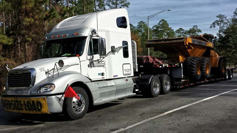 Outfront Transport Oversize Load