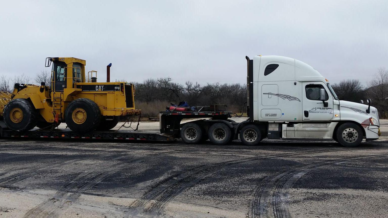Outfront Transport Overweight